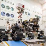 Mars 2020 rover at JPL