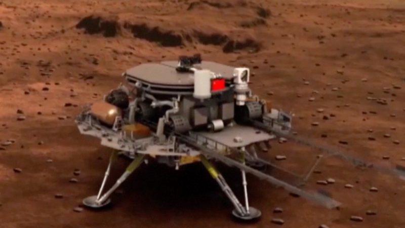 CHINA'S TIANWEN-1 MARS ROVER