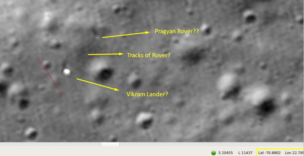 Chandrayaan-2 rover intact?