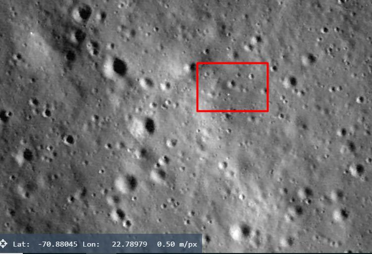 Chandrayaan 2 Rover Intact