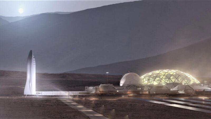 Mars Base and BFR
