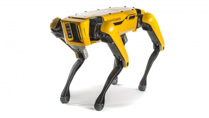 SpaceX brought a robotic dog