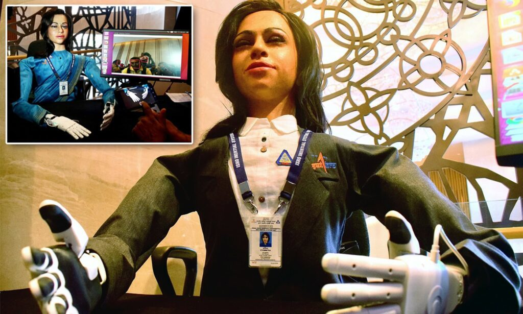 Gaganyaan India's First Manned Space Flight to carry a half humanoid robot