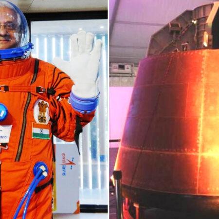 Gaganyaan spacesuit and capsule