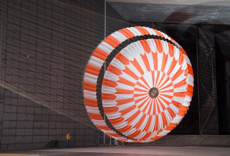 Testing Perseverance's Parachute