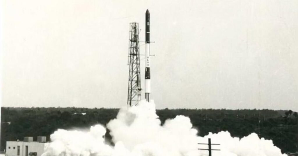 SLV - India's first satellite launch vehicle